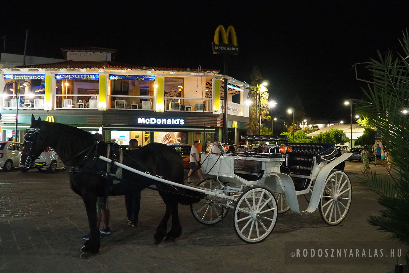 Falirakiban McDonald's is van