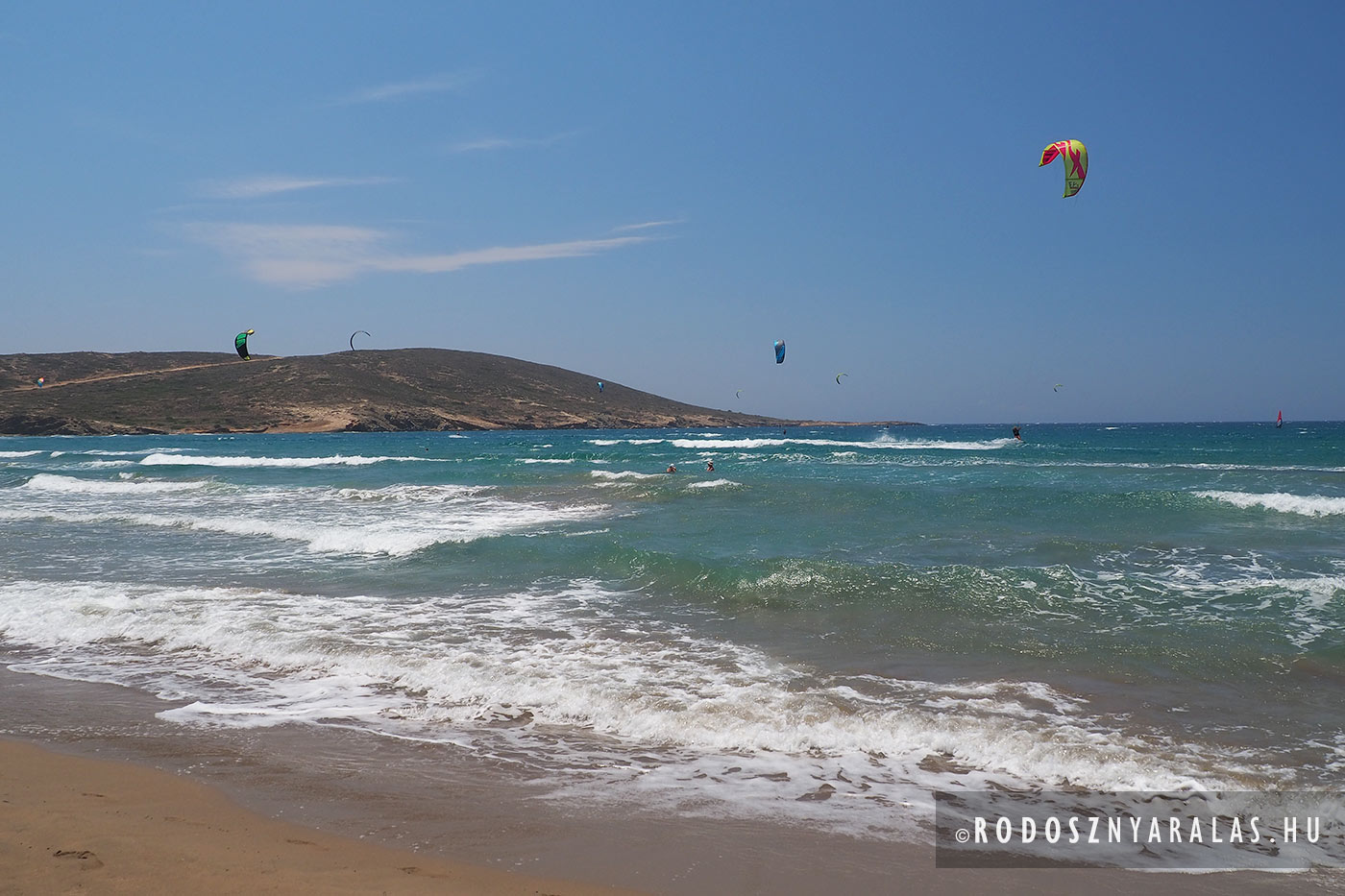 Prasonisi kite surf